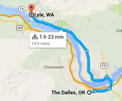 The Dalles to Lyle – Columbia Gorge VR Tour